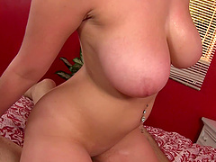 Busty Brooke Wylde cannot get enough of her lover's fat cock