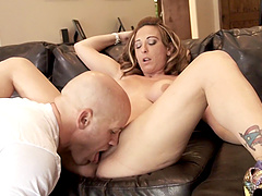 Serena Marcus is a babe with a big butt in need of a cock
