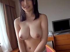 Yoshinaga Akane wants to feel a dick in her hairy love hole