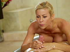 Alexis Fawx wants to show off her skills to a lucky stallion