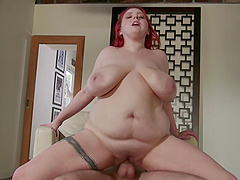 Kamille Amora enjoys a hot stallion's fat pleasure rod