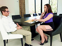 Stunning Chanel Preston cannot resist seducing a lucky fellow