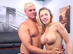 Kagney Linn Karter is a stunning babe who loves making a dick stiff