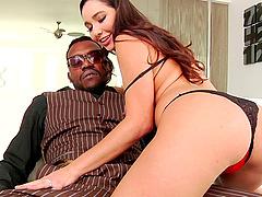 Karlee Grey is a cock craving slut ready for a black boner