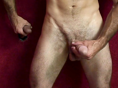 Steven Richards enjoys a massive black dick from a glory hole