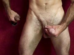 Steven Richards enjoys a massive black dick from a glory hole