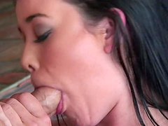 Stiff dick is all horny brunette Amy Starz wants to bend over for