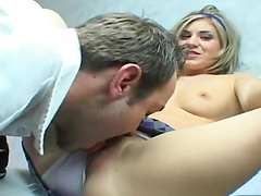 Stephanie Richards bends over for a horny lover's hard member