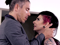 Joanna Angel cannot resist a handsome lover's thick cock