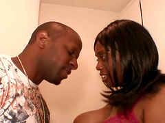 Ebony chick Divastarr has a blast being plowed with a BBC