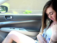 Lexi Lovell is curious about a handsome lover's stiff boner