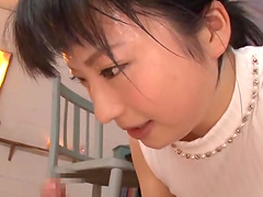 Yamada Ayaka wants to make a dick hard with her lips