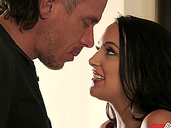 Magnificent sexual game with lovely brunette Sofi Ryan