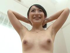 Pretty brunette Takita Eriko's body examined by a horny fellow
