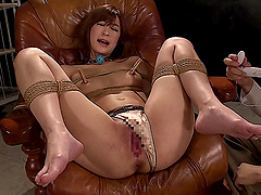 Ichika Kamihata enjoys being a part of a BDSM session