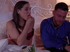 Abella Danger seduced by a nasty fellow for a hot shagging game