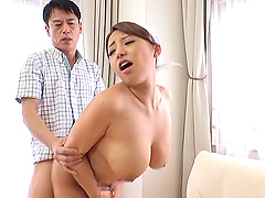 Uchiyama Mai is a cock craving housewife in need of a fuck