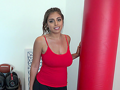 Ella Knox will do anything to make a fellow's dick pulsate