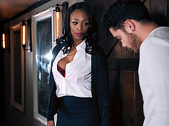Lola Marie is a hot black chick who cannot resist a man's cock