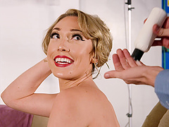 Lily Labeau is an elegant babe who is interested in a big dick