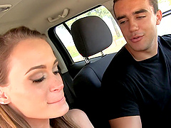 Kacy Lane offers her amazing body to a handsome lover