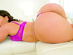Abella Danger enjoys showing off her cock sucking skills