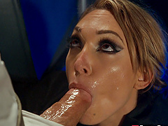 Lily Labeau is a horny chick in need of a lover's dong