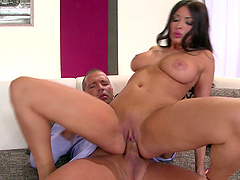 Anissa Kate is a cute brunette who wants to ride a penis