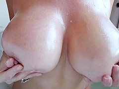 Face fucking session with nasty MILF Asian Kianna Dior