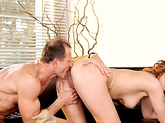 Gabrielle Daniels fucked hard by a handsome stallion