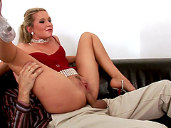Gangbanging salacious Cherry Jul who receives dicks from all sides