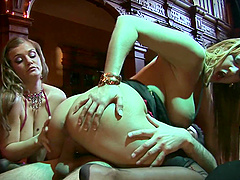 Hardcore threesome with amazing Trina Michaels and another hoe