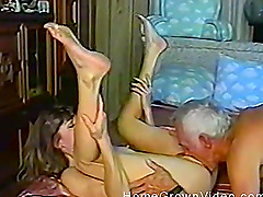 Older gentleman knows how to please Lynn and make her horny