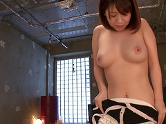 Asian babe Wakaba Onoue knows exactly how to pleasure a friend