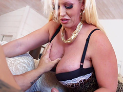 Alura Jenson and another babe know how to play with a dick