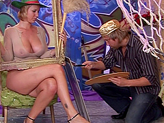 Irresistible Alice can't resist jumping on a big load of dick