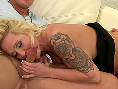 Blonde Alexis Malone gets her wet pussy filled with a hard dick
