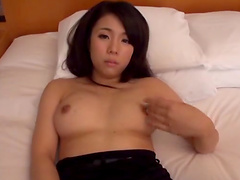Horny brunette hottie gets her pussy banged by a hard shaft