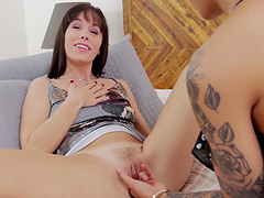 Cute Alana Cruise and her friend finally get to please each other