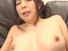 Getting her cunt pleased with a vibrator makes Ichijou Kimika moan loudly