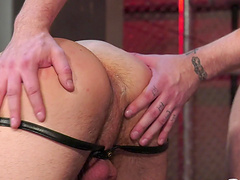 Nothing makes a horny guy happy like getting his butt fucked