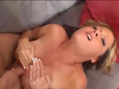 Beautiful Sophia Ferrari get surprised with a long hard cock
