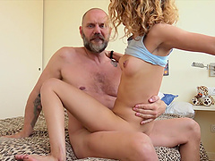 His long cock was more than enough to satisfy kinky babe Scarlet