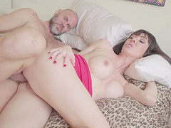 Lovely Sofia Star agrees to bounce on a dick while she moans