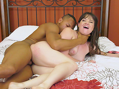 Gorgeous Alison Rey knows what a black guy wants from her