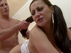 Lucky guy gets to fuck Lara Jade Deene while she moans loudly