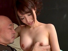 Big load of dick is all Kazama Yumi needs to get pleased