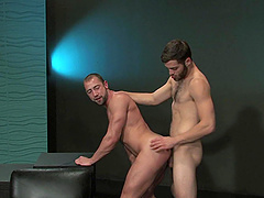 Gay one on one action with Tommy Defendi and Donnie Dean