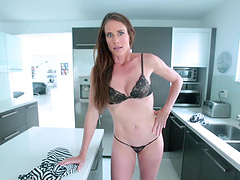 MILF Sofie Marie takes care of that cock in a POV video