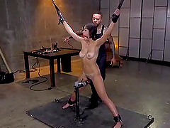 amazing brunette adores hard sex games and that includes deep penetration
